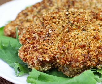 Hemp and Herb Crusted Pork Chops