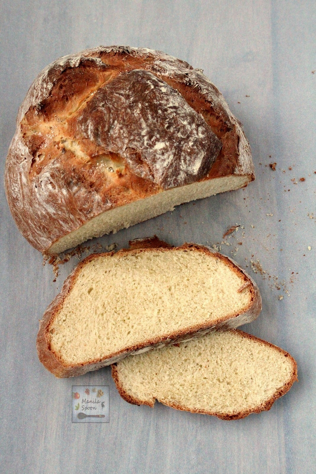 Easy Homemade Rustic Bread