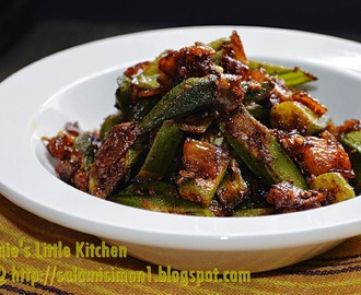 Bhindi Subzi ( Stir -  Fried Okra ) - AFF Indian Subcontinent