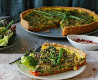 cupcakes-and-couscous wrote a new post, Spring vegetable and red pesto tart, on the site Cupcakes & Couscous