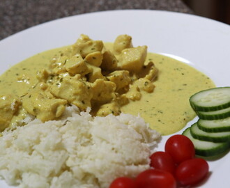 Curry and Tarragon Chicken
