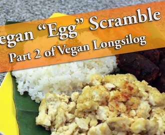 "Vegan ""Egg"" Scramble"