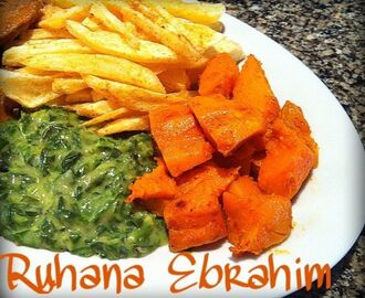 Creamed Spinach and Butternut