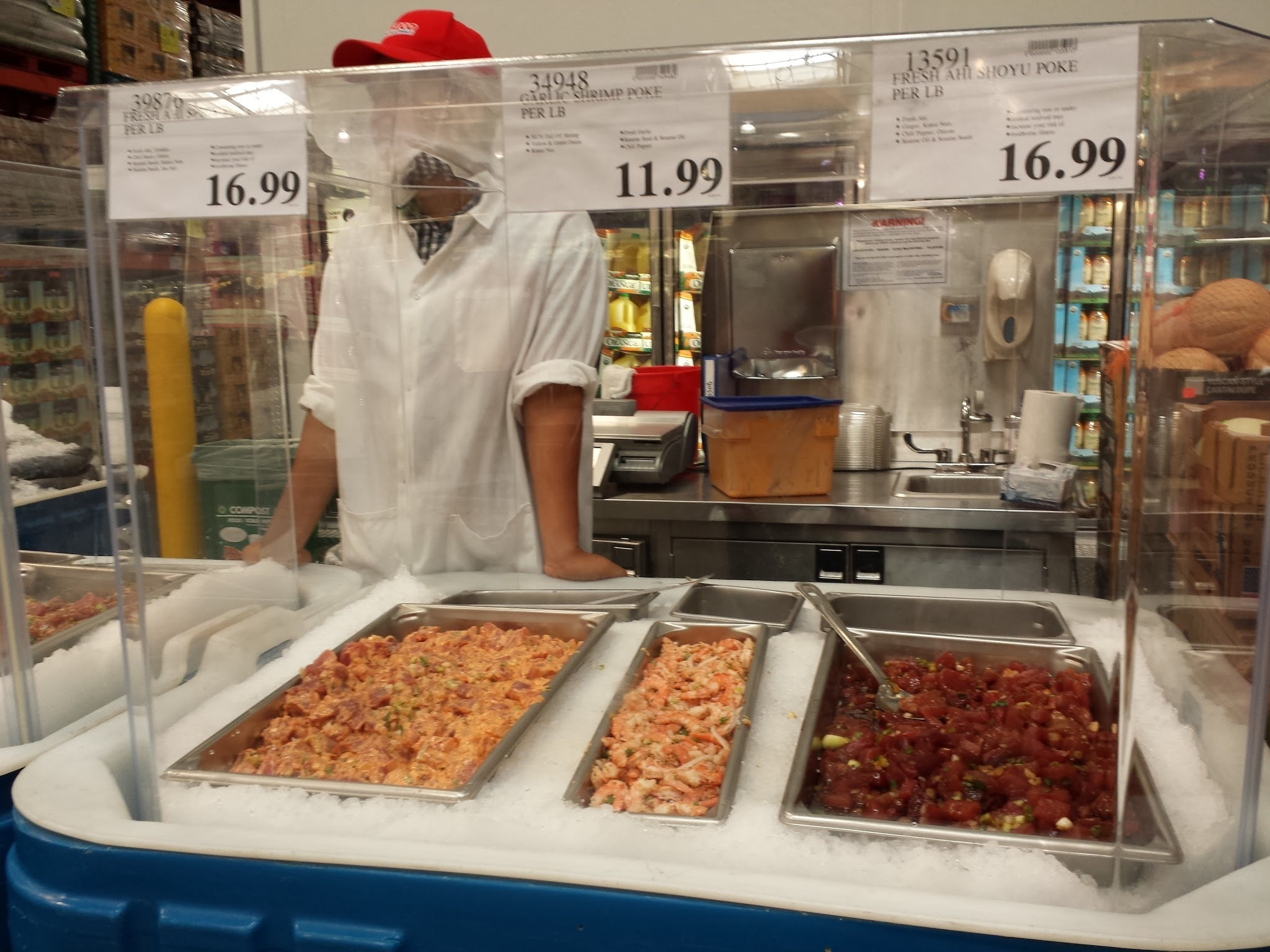 Review of Costco Hawaiian Poke in California