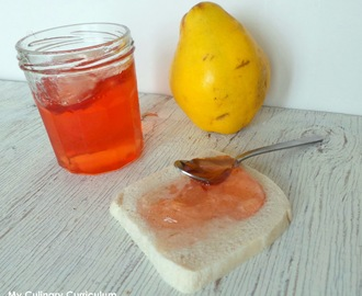 Gelée de coings (Quince jelly)