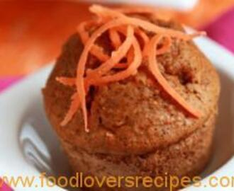 100 CALORIE CARROT GINGER MUFFINS