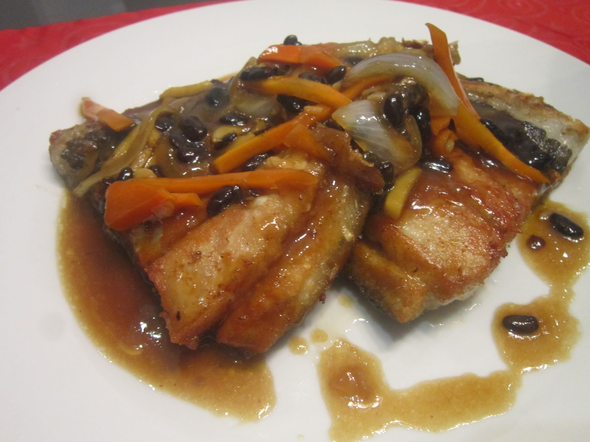 BONELESS BANGUS in BLACK BEAN SAUCE