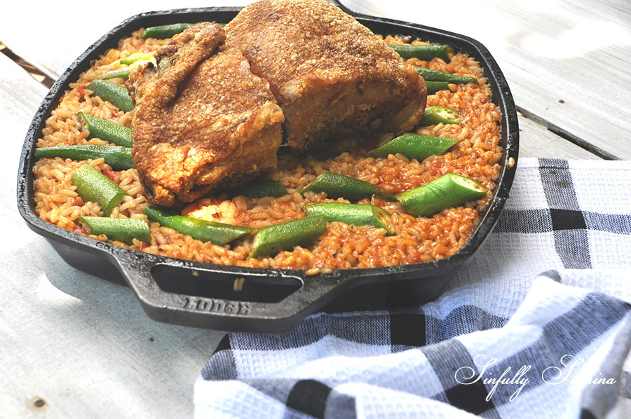 Bagoong (Shrimp Paste) Paella with Bagnet