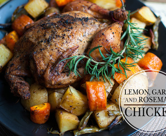 Lemon, Garlic and Rosemary Chicken