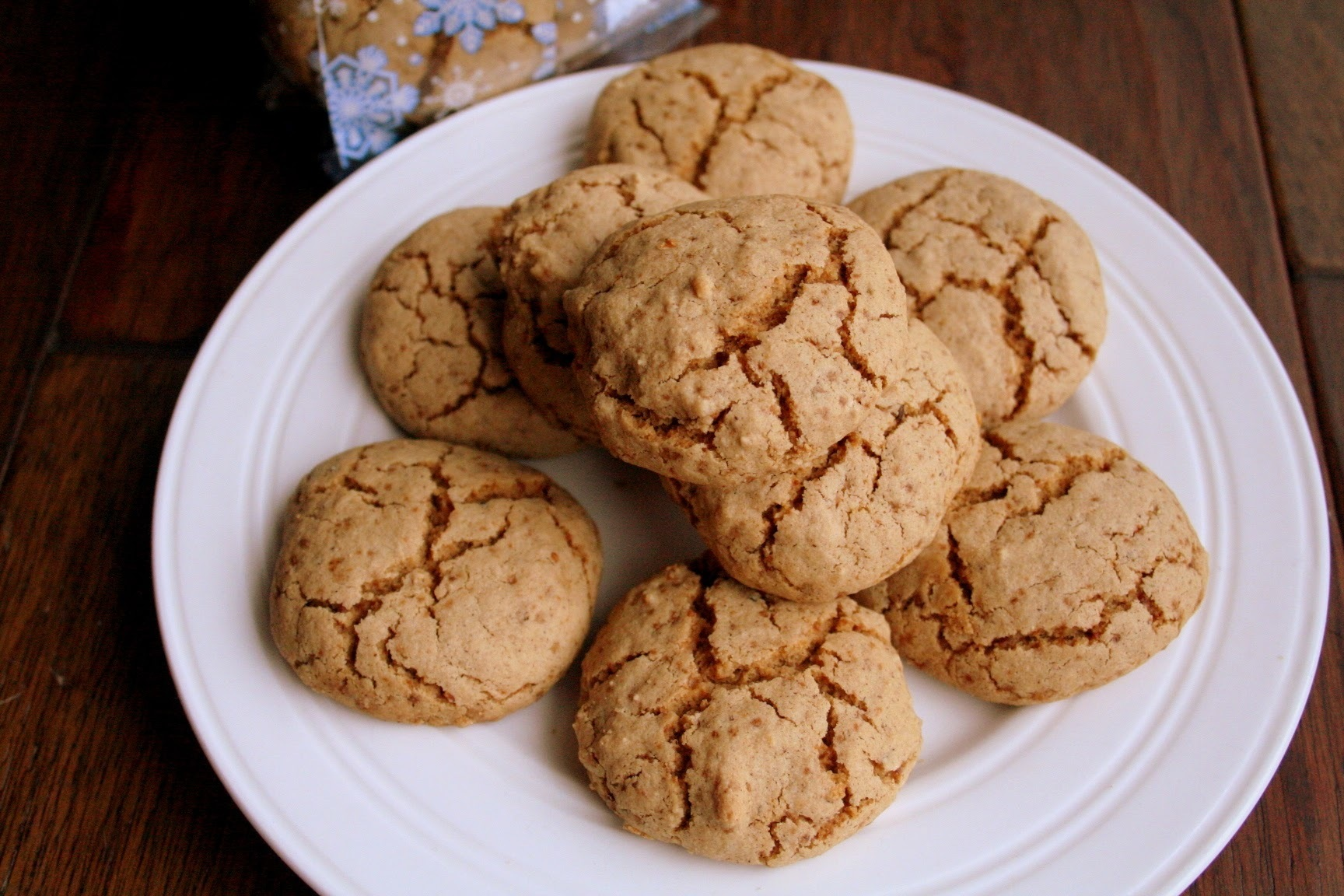Spice Cookies (Gluten, Dairy and Refined Sugar Free)