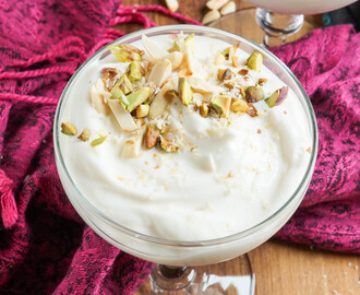 Yogurt Cookbook Review and Shrikhand (Indian Yogurt Pudding)