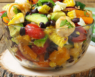 Corn and Black Bean Tortellini Salad