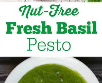 How to Make Fresh Basil Pesto Without Nuts