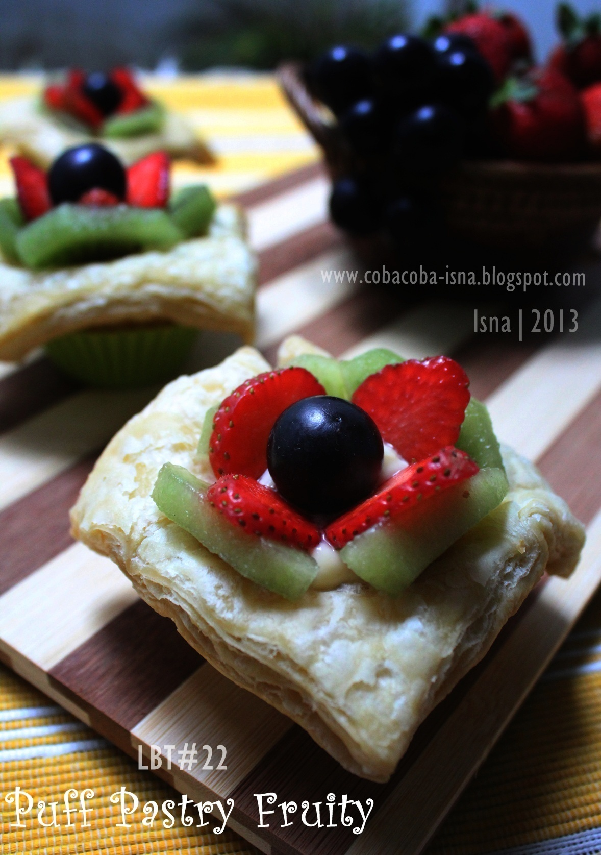 LBT#22 Puff Pastry Fruity