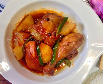 Chicken Asado/ Asadong Manok (Tomato and Lime Soured Chicken Stew)