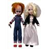 Living Dead Chucky & Tiffany Doll Set 25 cm