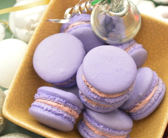 French Blueberry Macaron(Simple and Easy steps)