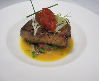 Blackened Yellowfin Tuna