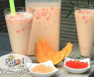 Milky Melon Sago Cooler Recipe