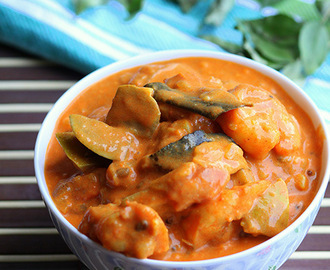 Shrimp and Mango Curry