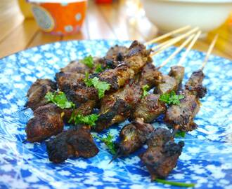 Addictive, Mouth-Numbing Xinjiang Chilli Lamb Skewers