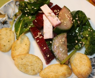 Leafy Kale and Beetroot Salad