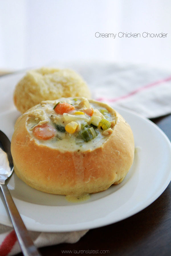 Creamy Chicken Chowder