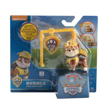 Paw PatrolPaw Patrol Rubble Pull-Back Valp