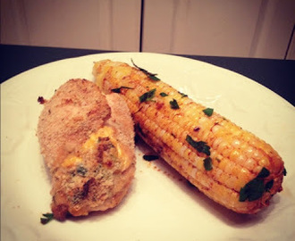 Grilled Corn with Paprika Lime Butter