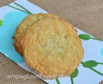 Coconut Cookies with a hint of Lime