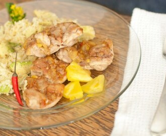 Filipino Pineapple Tamarind Chicken