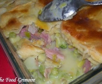 Pot pie au jambon