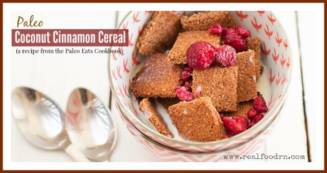 Paleo Coconut Cinnamon Cereal