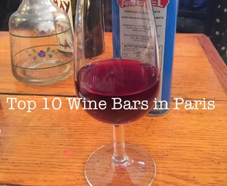 10 Wine Bars in Paris You Shouldn't Miss