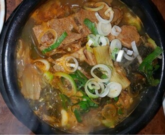 Korean Pork Bone Soup