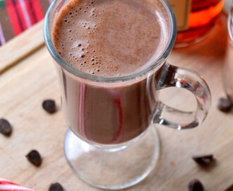 Homemade Hot Cocoa Mix with Sailor Jerry Rum
