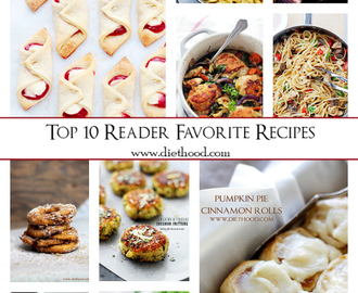 Best of 2014: Top 10 Reader Favorite Recipes
