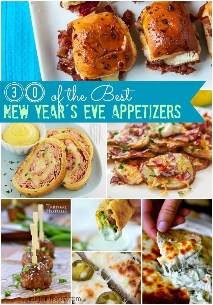 30 of the Best New Year's Eve Appetizers