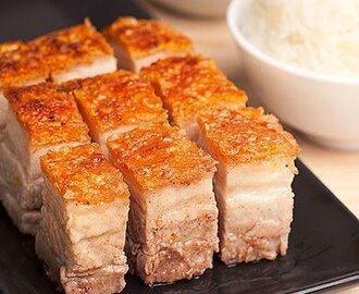Crispy Pork Belly Lechon Kawali Recipe