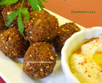 Falafels? oui, mais pas n'importe lesquels! The best ones :)