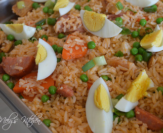 Fried Rice with Tomato Sauce