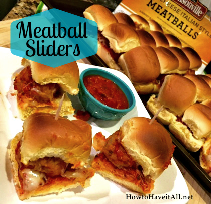 Easy Meatball Sliders Recipe