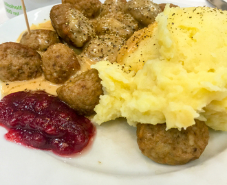 Swedish meatballs IKEA These were without horse meat