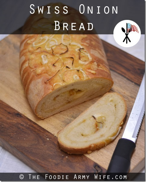 Swiss Onion Bread | #SundaySupper