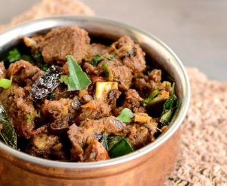 Mutton Sukka Recipe | Mutton Chukka Varuval | Spicy Mutton Masala Fry Recipe
