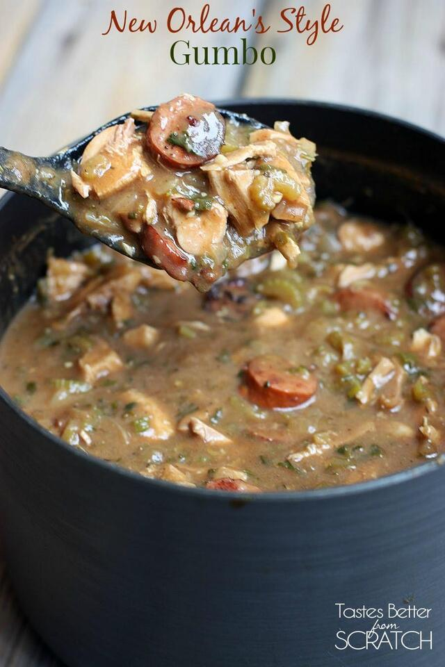 Authentic New Orlean's Style Gumbo
