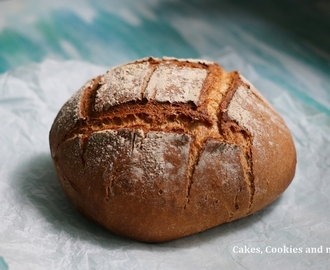 World Bread Day 2016 - Homemade Caraway Bread Recipe - Kümmelbrot