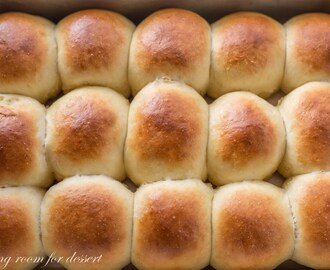 Homemade Hawaiian Sweet Rolls