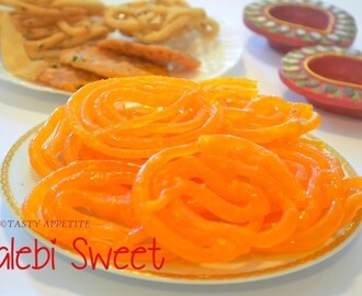 Jalebi Sweet / How to make Jalebi / Indian Jalebi Recipe