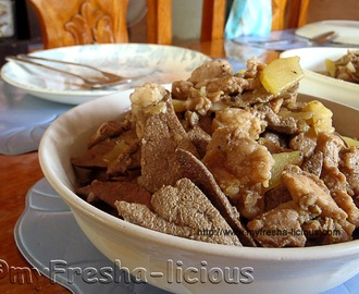 Simple Ilocano Pork Igado